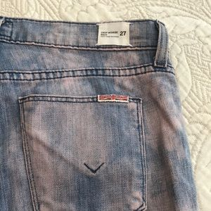 Hudson Jeans Jeans - Hudson crop midrise Nico, zips at ankle jeans